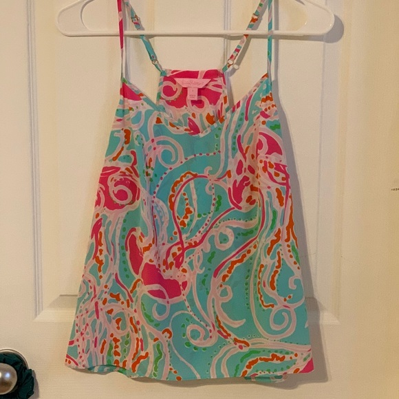 33e4df8d7fd6 Lilly Pulitzer Tops - Jellies be jammin dusk tank from Lilly Pulitzer